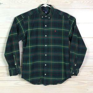 Polo Ralph Lauren Boy Plaid Button Down Shirt